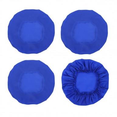 Чехлы на колеса коляски, цвет синий
