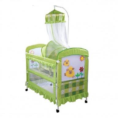 Кроватка детская металлическая BC-368