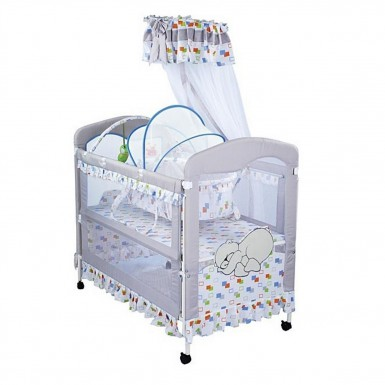 Кроватка детская металлическая BC-326