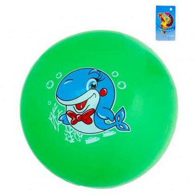 """Мяч детский """"Дельфин"""" 16 см (зеленый)"""