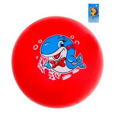 """Мяч детский """"Дельфин"""" 16 см (розовый)"""