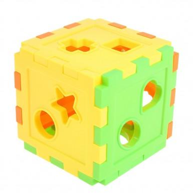 """Логическая игрушка """"Куб"""" со счётами"""