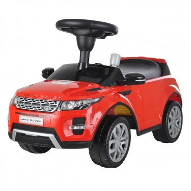 Машина-Каталка RANGE ROVER (муз.панель), Красный