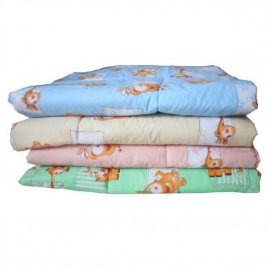 Одеяло стеганное 110х140 (холлофайбер/бязь)