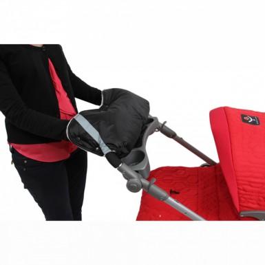 Муфта для коляски 25х50 см (черный)
