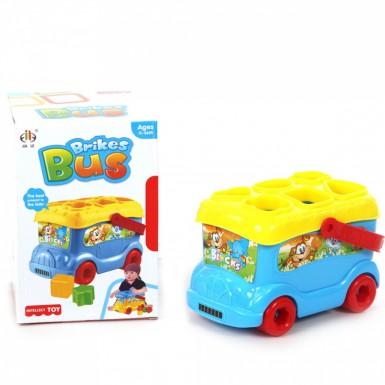 """Развивающая игрушка """"Автобус-сортер"""""""