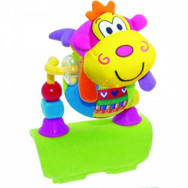 "Развивающая игрушка на бампер коляски ""ОБЕЗЬЯНКА"""