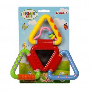 """Развивающая игрушка-погремушка """"Треугольнички"""""""