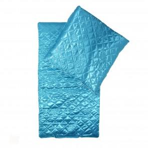 Набор в коляску (атлас), голубой