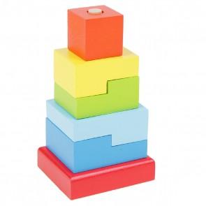 """Пирамидка """"Ступеньки"""", 6 элементов"""