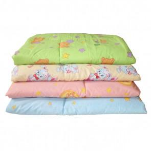 Одеяло стеганное 110х140 (шерстепон/бязь)