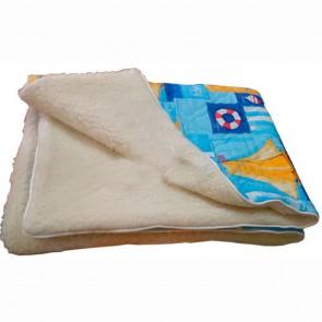 Одеяло стеганное с шерстью Мериноса (110х140)