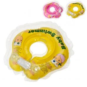 BABY SWIMMER Круг для купания (3-12кг) Полуцвет