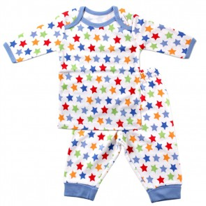 Пижама (Футболка д/р и штанишки), 2 предмета, (термо)